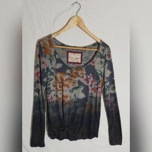 Anthropologie Pure+Good long sleeve shirt XS